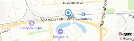 КЗСК на карте Краснодара