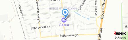 Компас-Класс на карте Краснодара