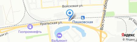 Аква Алекс на карте Краснодара