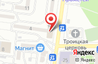 Схема проезда до компании Экслайн Медиа-2 в Воронеже