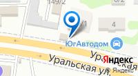 Компания Гант на карте