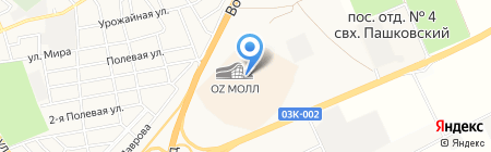Zeki на карте Краснодара
