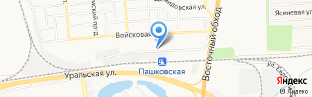 Грантэк-ЭЛ на карте Краснодара