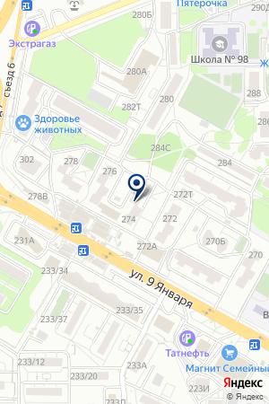 Отделение почтовой связи №20 на карте Воронежа