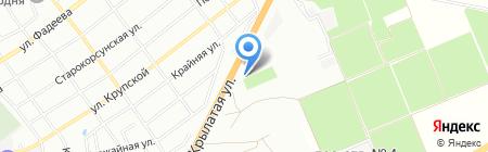 КЛЮЧАВТО на карте Краснодара