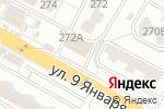 Схема проезда до компании Магнит Косметик в Воронеже