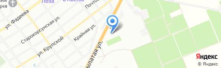 Skoda на карте Краснодара