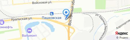 МАТЦ на карте Краснодара