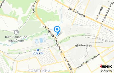 Местоположение на карте пункта техосмотра по адресу г Воронеж, ул Холмистая, д 56В