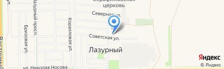 Детский сад №17 на карте Краснодара