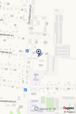 АЗС ГАЗПРОМНЕФТЬ на карте Миасского