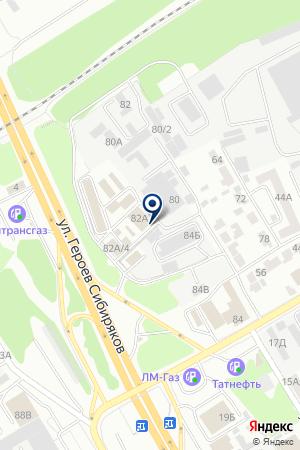 Центр кинологической службы на карте Воронежа