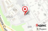 Схема проезда до компании Магазин-склад в Воронеже