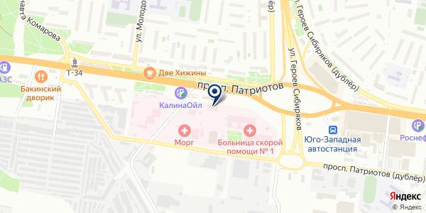 Reflex на карте Воронеже