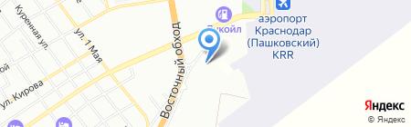 Mitsubishi Motors на карте Краснодара