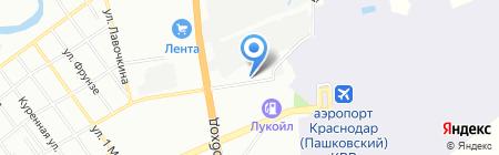 Амкодор-Юг на карте Краснодара