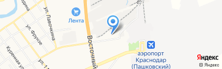 Sandra & Sofi на карте Краснодара