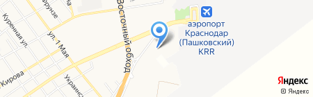 Toyota на карте Краснодара