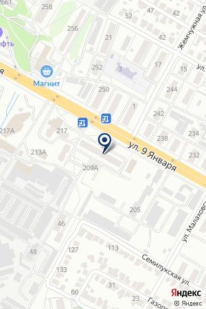 АВТОМАСТЕРСКАЯ ЖЕМЧУЖИНА на карте Воронежа