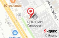 Схема проезда до компании Универсал-Трейд в Воронеже