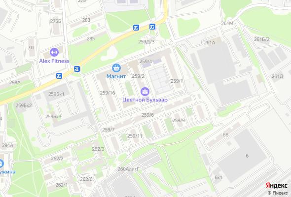 жилой комплекс Цветной Бульвар