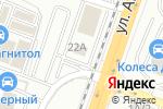 Схема проезда до компании MPart в Воронеже
