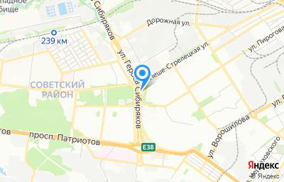 Местоположение на карте пункта техосмотра по адресу г Воронеж, ул Героев Сибиряков, д 13В
