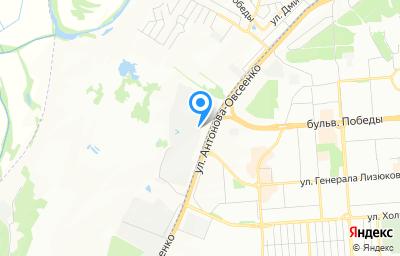Местоположение на карте пункта техосмотра по адресу г Воронеж, тер ГСК Гранит, ул Антонова-Овсеенко, д 34