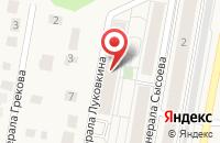 Схема проезда до компании НИКС в Ямном