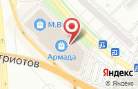 Схема проезда до компании Премьер-Арт в Воронеже