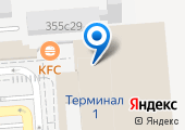 Международный аэропорт Краснодар на карте