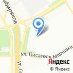 Отдел по вопросам миграции Главного Управления МВД России на карте Воронежа