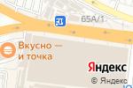 Схема проезда до компании Полёт в Воронеже