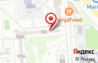 Схема проезда до компании Гепард в Воронеже