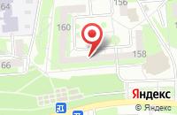 Схема проезда до компании Росснабтекстиль в Воронеже