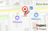 Схема проезда до компании Орис в Воронеже