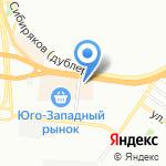 Гамма на карте Воронежа