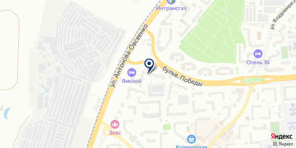 Юго-Восток Снаб на карте Воронеже