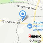 Газсервис на карте Воронежа