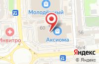 Схема проезда до компании Бином в Воронеже