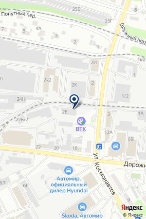 Управляющая компания АГРО-Инвест на карте Воронежа