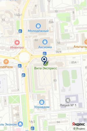 Отделение почтовой связи №88 на карте Воронежа
