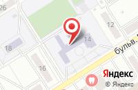 Схема проезда до компании Средняя общеобразовательная школа №4 в Воронеже