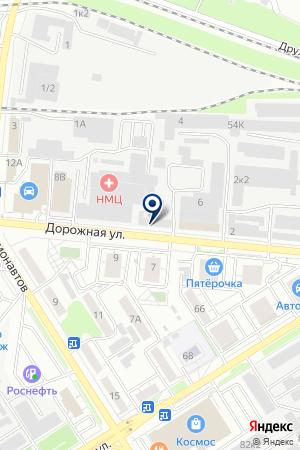 Некст Трейд на карте Воронежа