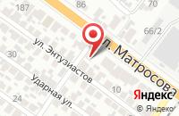 Схема проезда до компании Мастерская Волшебника в Воронеже