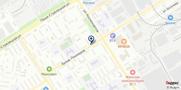 ШармЭль на карте Воронеже