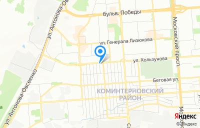 Местоположение на карте пункта техосмотра по адресу г Воронеж, ул Подгоренская, д 90, пом 1