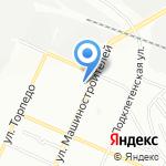 GT motors на карте Воронежа