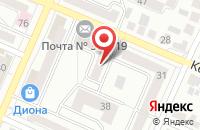 Схема проезда до компании Овер - Принт в Воронеже