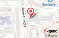 Схема проезда до компании Гейзер в Воронеже